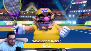 Mario Tennis Aces: Tennis Refined - Live Reactions!