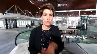Les Halles de Pau accueillent les commerçants : la présentation de la directrice Sophie Borotra