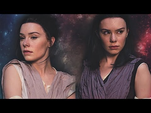 Star Wars Rey - Makeup Transformation thumbnail