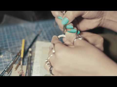 Cмотреть видео Кольца   Мастеркласс пластичное серебро ART CLAY