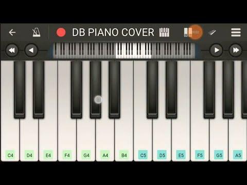 Main Hoon Hero Tera Piano Tutorial / Piano Cover By Dipesh Baradiya