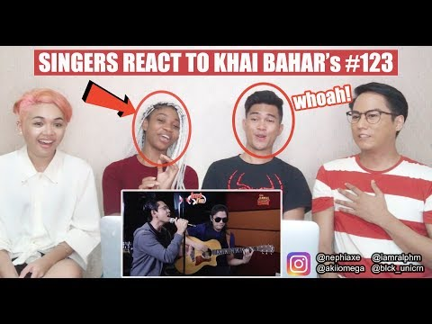 Khai Bahar - #123 (LIVE) - Jamming Hot - #HotTV   SINGERS REACT