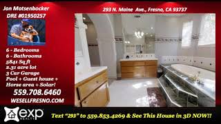 A home that fits your lifestyle 4 Bedroom/4 bathroom house for sale in Fresno California