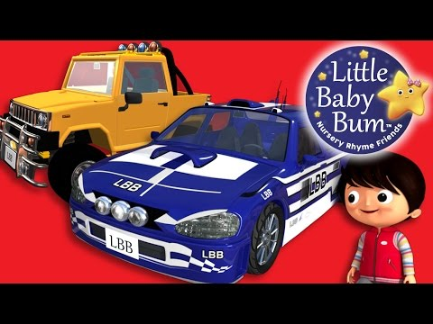 Driving In My Car Song | Little Baby Bum | Nursery Rhymes for Babies | ABCs and 123s