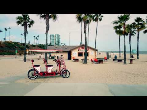 Longboarding in Long Beach California - DJI Osmo & Galaxy S7 4K