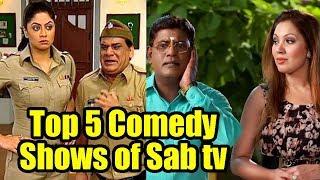 Top 5 Most Funny Comedy Serials of Sab tv