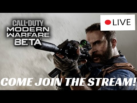 RANKED #1 IN MW BETA (PRO PLAYER)- Stream