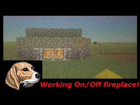 how to make a fireplace in minecraft xbox one