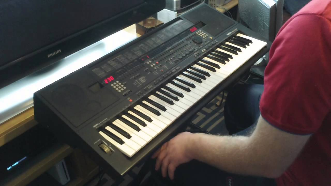 Yamaha psr sq16 keyboard rhythm styles youtube for How to repair yamaha keyboard