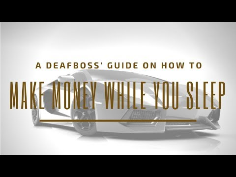 Make Money While You Sleep   DeafBoss Presents Top Choice For Home Business