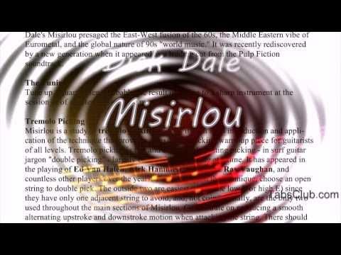 Dick Dale - Misirlou Guitar tabs (PDF)