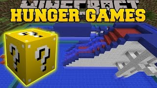 Minecraft: WIPEOUT HUNGER GAMES - Lucky Block Mod - Modded Mini-Game