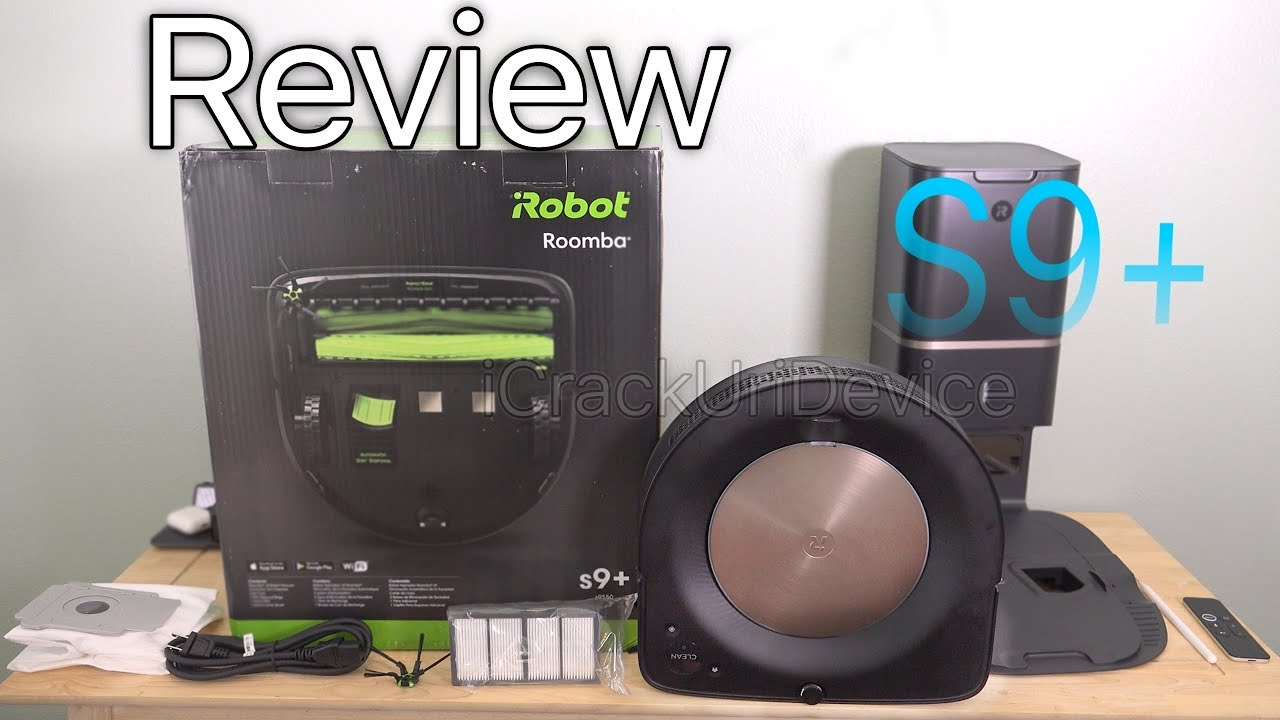 Roomba S9 Robot Vacuum Irobot Review And Unboxing Vs I7 Youtube