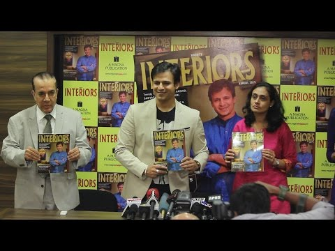 UNCUT - Society Interiors Magazine Launch | Vivek Oberoi | Magna Publication