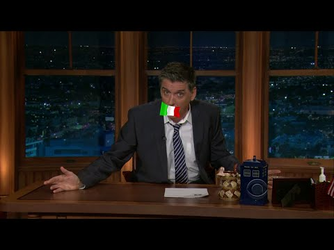 Late Late Show with Craig Ferguson 1/14/2011 Paul Giamatti, Piper Perabo