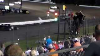 Modified crash @ Devils Bowl Speedway ( 6 - 20 - 15 )