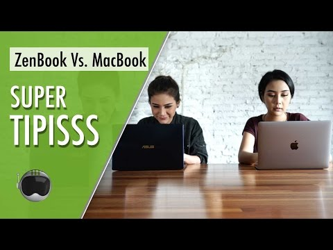 ZenBook 3 UX390 vs New MacBook: Tipis, Ramping, Premium