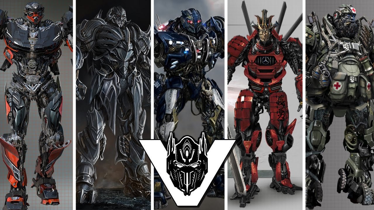 Transformers 5 robot cast designs megatron barricade - Autobot drift transformers 5 ...