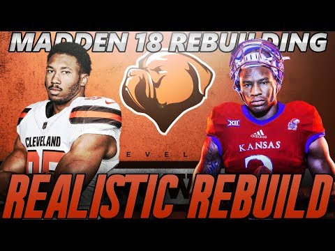 Cleveland Browns Realistic Rebuild | Dorance Armstrong Jr = Steal of the Draft | Madden 18 Franchise