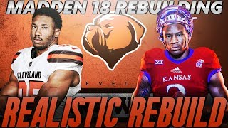 Cleveland Browns Realistic Rebuild | Dorance Armstrong Jr = Steal of the Draft | Madden 18 Franchise 2017 Video