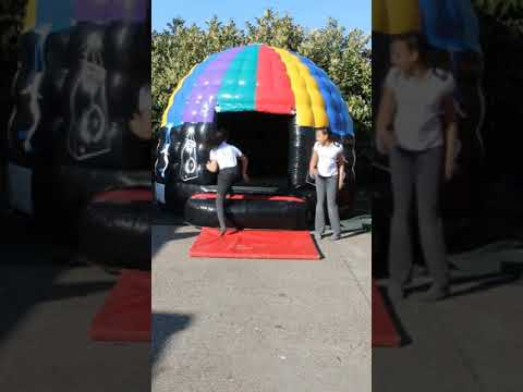 Inflatable Bouncy Castle Disco Dome