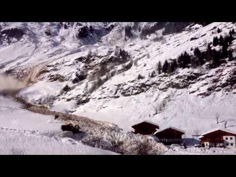 Lawine Passeier Südtirol - Valanga Alto Adige - Avalanche South Tyrol Pill Moos Beibach Italy