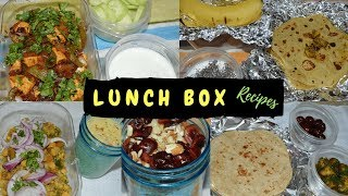 Husband's / Kids LunchBox Ideas- Monday To Friday | Indian Vegetarian Recipes | Real Homemaking