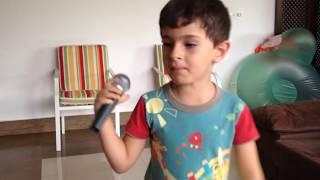 Cezare Massimo cantanto habibi   Ya nour el ain - Amr Diab - versão Omar Arnaout