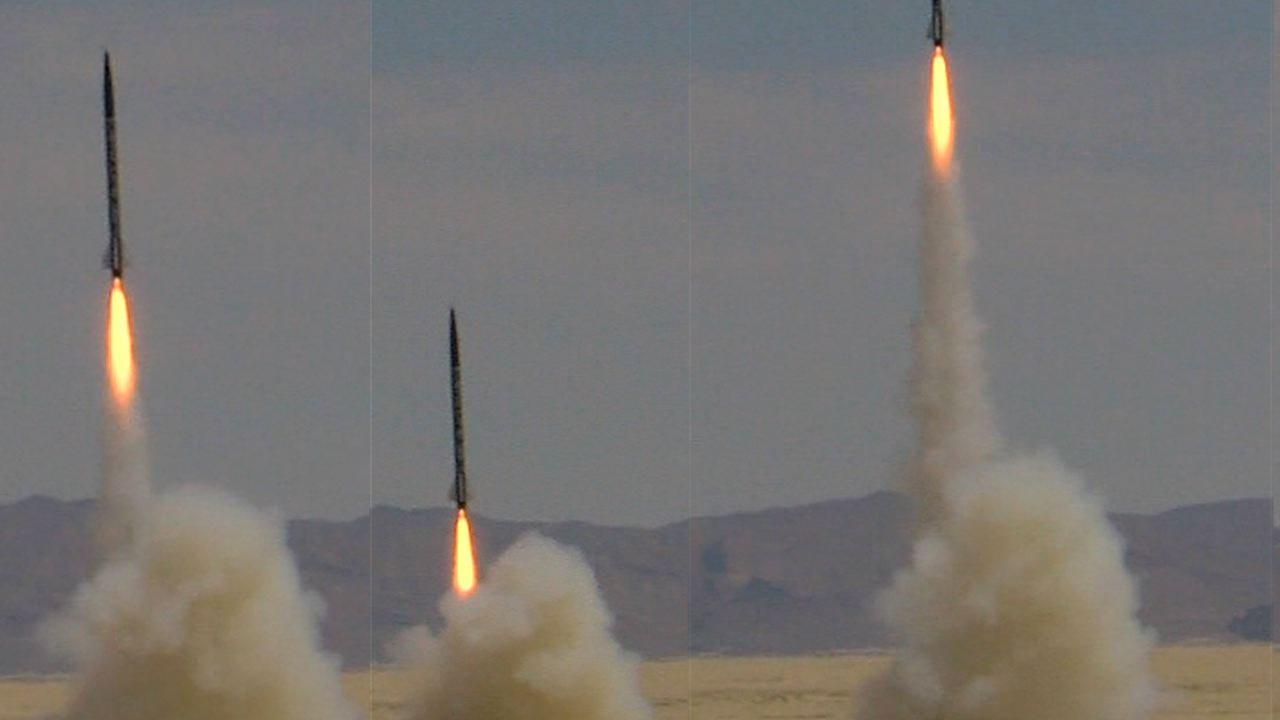 rockets in the black rock desert