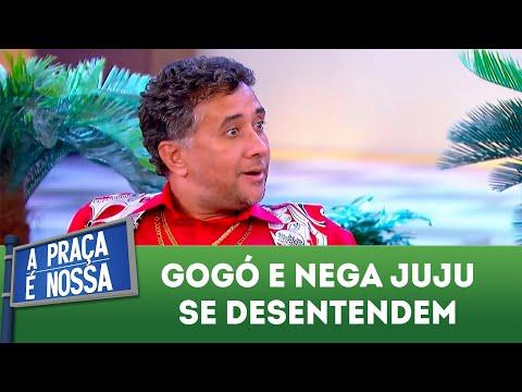 Gogó e Nega Juju se desentendem | A Praça é Nossa (14/06/18)