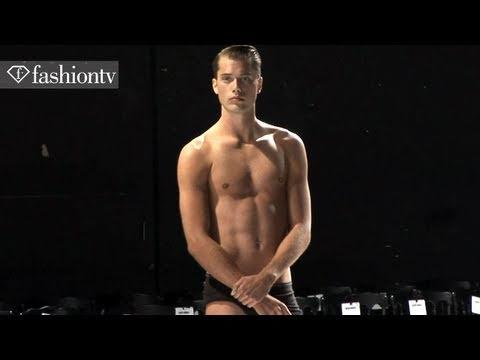Adrien Sahores @ Alexis Mabille Backstage – Paris Men's Fashion Week Spring 2012 | FashionTV – FTV