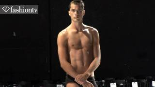 Adrien Sahores @ Alexis Mabille Backstage - Paris Men's Fashion Week Spring 2012 | FashionTV - FTV