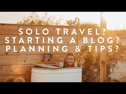 Travel Q&A: Solo Trips? Starting a Blog? Future Travel? Planning & Tips?