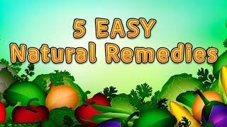 5 CHEAP Natural Remedies