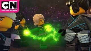 Ninjago | The Ninjas Battle A River Monster | Cartoon Network