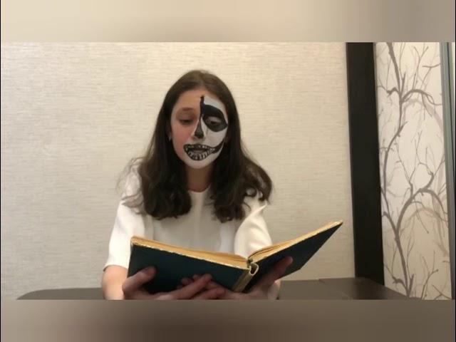 Изображение предпросмотра прочтения – РиммаГхашим читает отрывок изпроизведения «Страшная месть» Н.В.Гоголя