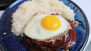 Easy Spicy Jalapeno Cheese Stuffed Loco Moco - Cooking Vlog Eps #9