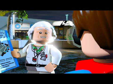 LEGO Dimensions A Hill Valley Time Travel Adventure Level Pack Walkthrough