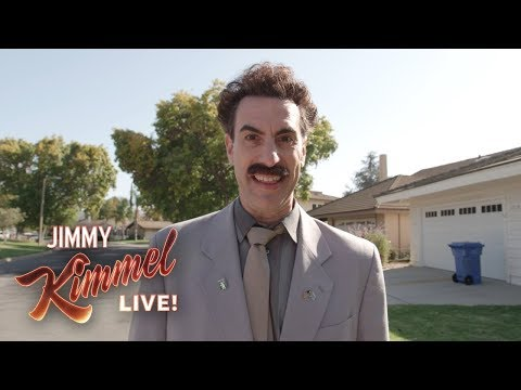Borat RETURNS to