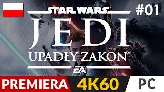 Star Wars Jedi: Upadły zakon  #1 (odc.1) ✨ Gwiezdne Wojny na singla | Fallen Order PL Gameplay 4K