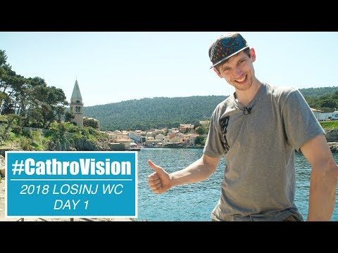 #CATHROVISION // Losinj World Cup Day 1 - Claudio Preview & Track Walk
