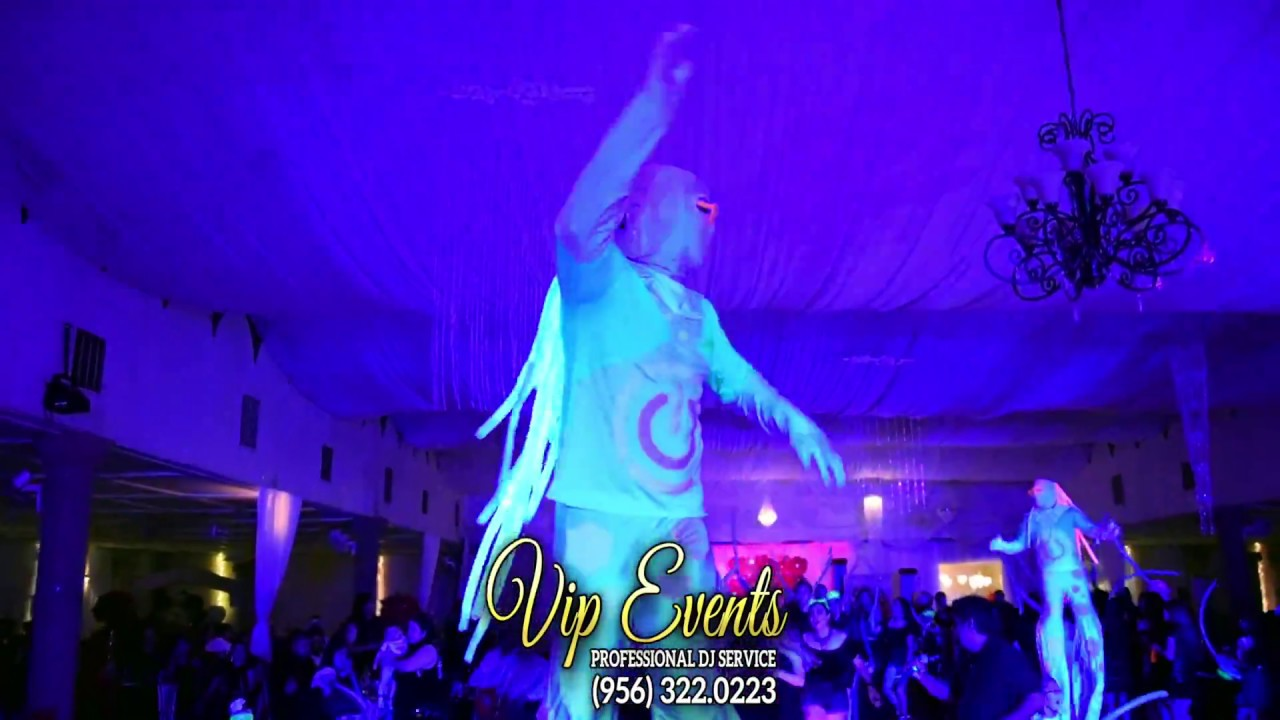 graduation party julabe twins by vip events dj company glow in the