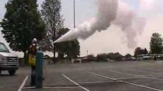Liquid Ammonia Aerosol Release Changing to a Gas Release