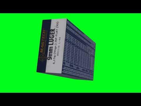 Magtech 9mm Parabellum 95 Gr JSP FLAT Ammo Box Chroma