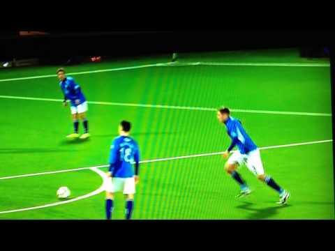 Qos v Rangers goal