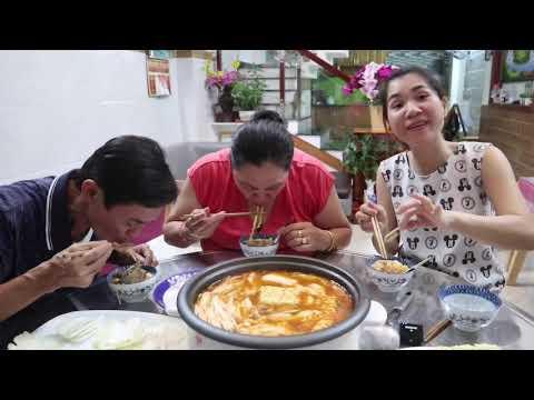 Vincent CHIÊN TRỨNG & BA NẤU NỒI LẨU KIM CHI SƯỜN BÒ HÀN QUỐC ( Korea Hot Pot )