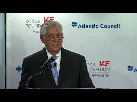 Tillerson: We Need NKorea to Come to the Table