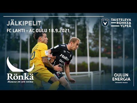 ACOTV: Rönkä jälkipelit FC Lahti - AC Oulu 18.9.2021