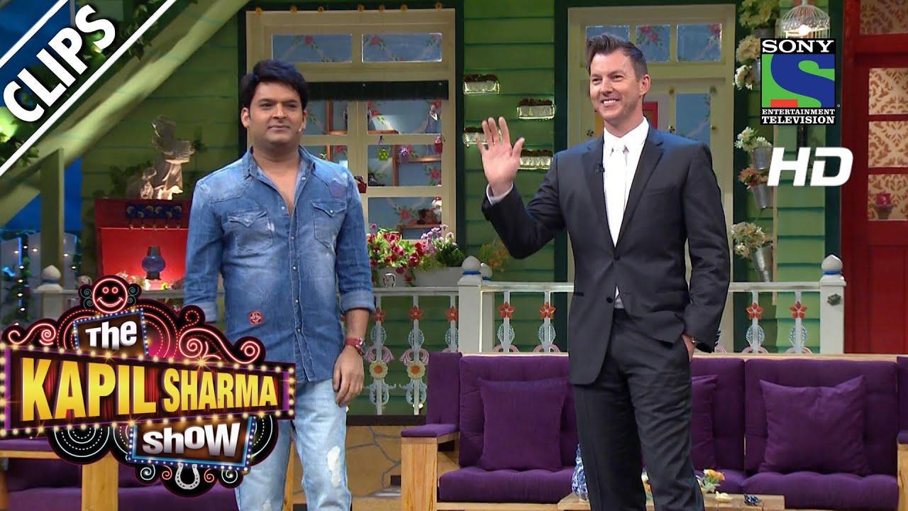 Kapil welcomes Brett Lee to the show -The Kapil Sharma Show-Episode 36  -21st August 2016