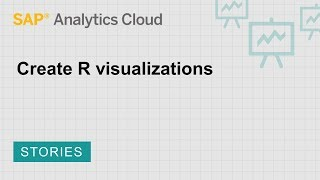 Erstellung von R-Visualisierungen: SAP Analytics Cloud (2018.8.2)